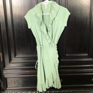 Matilda Jane light sage green dress ladies small